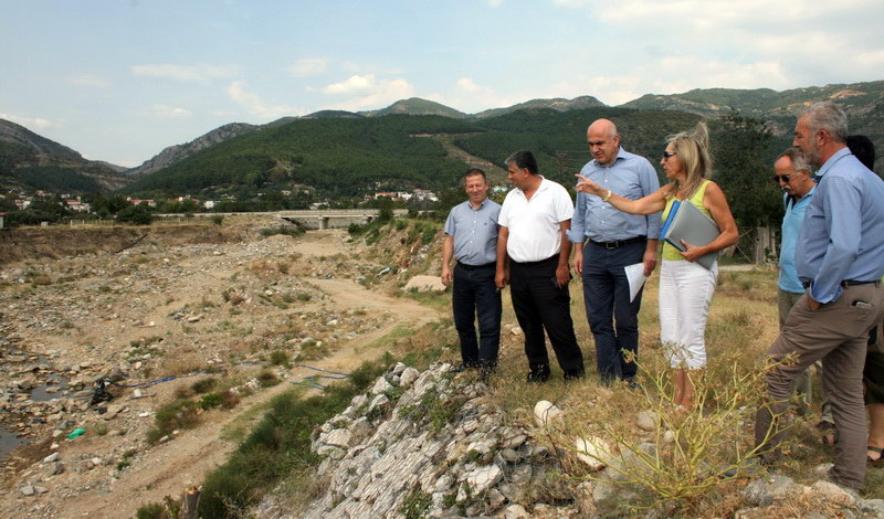 3,1 εκατ. ευρώ για τη διευθέτηση του χειμάρρου Κυδωνέα στα Κιμμέρια Ξάνθης