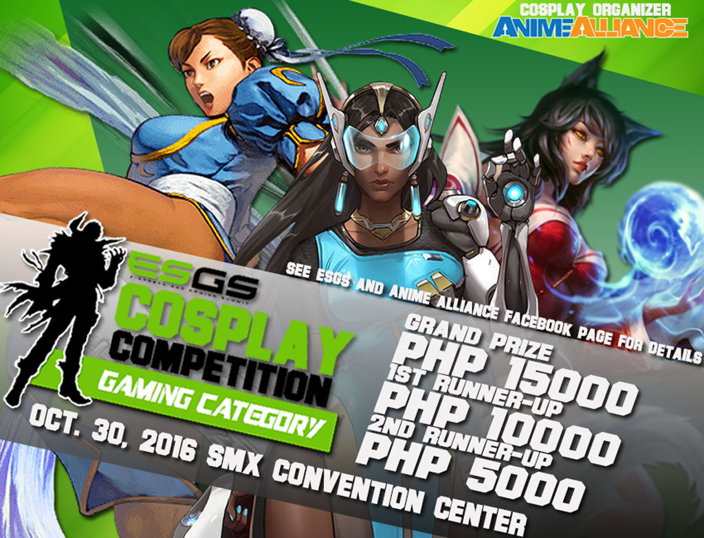 ESGS 2016 Cosplay Competitions