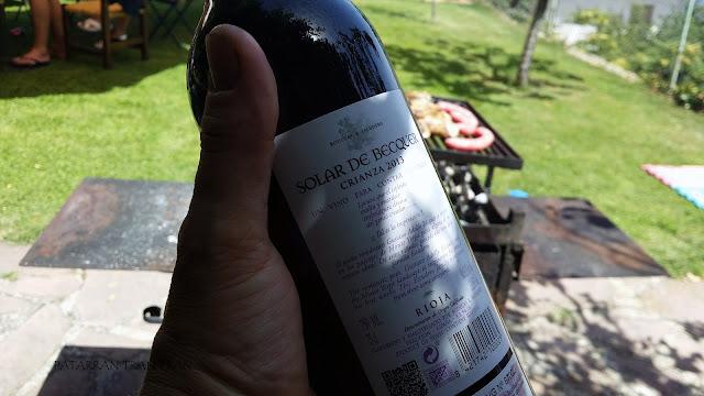 Solar de Bécquer. Rioja Crianza 2013