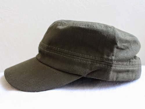 24199648380b4 In Review  Satin Lined Military Cap from Natural Born Hats LLC ...
