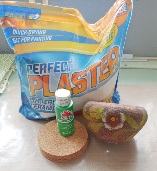 DIY Cactus Coaster supplies