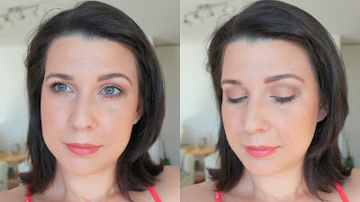 Coastal Scents Revealed Neutral shimmery look