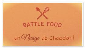 Mousse au chocolat au lait accompagnée de nuages meringués - Battle Food #40