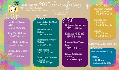 b8d2dd0fcc2ca Manila Shopper: Summer 2013 Actvities / Workshops for Kids & Adults