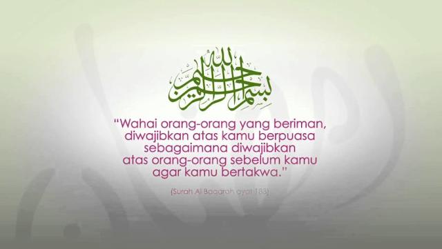 Inilah Kumpulan Bunyi Ayat Tentang Ramadhan Yang Memerintahkan Kita Untuk Berpuasa