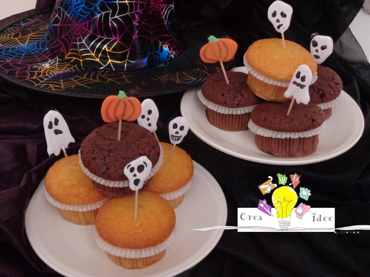 Decorazioni per dolci di halloween crea idee - Halloween decorazioni ...
