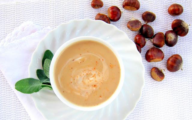 pressure cooker chestnut soup