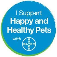 Proud member of the Bayer Animal Health Pet Influencer Team