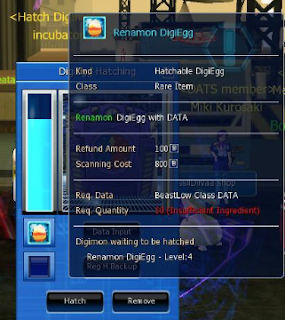 Tips untuk Hatch Normal Egg Di Digimon Master Online