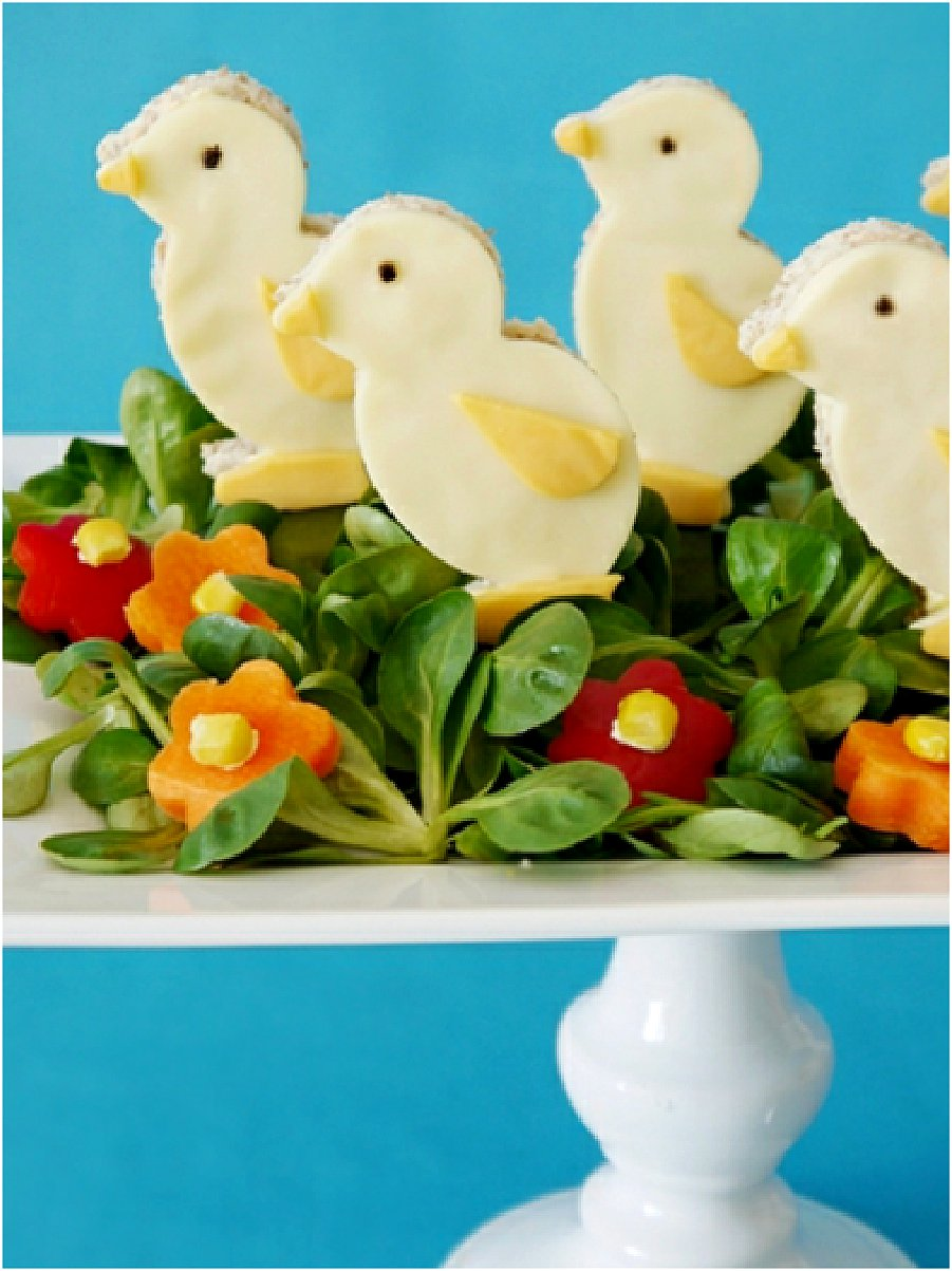 Easter Chicks Salad