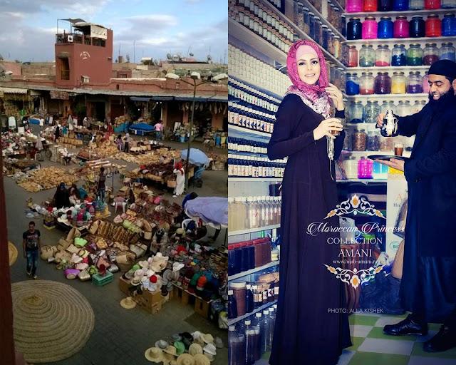 Marrakesz. Sklep z olejem arganowym