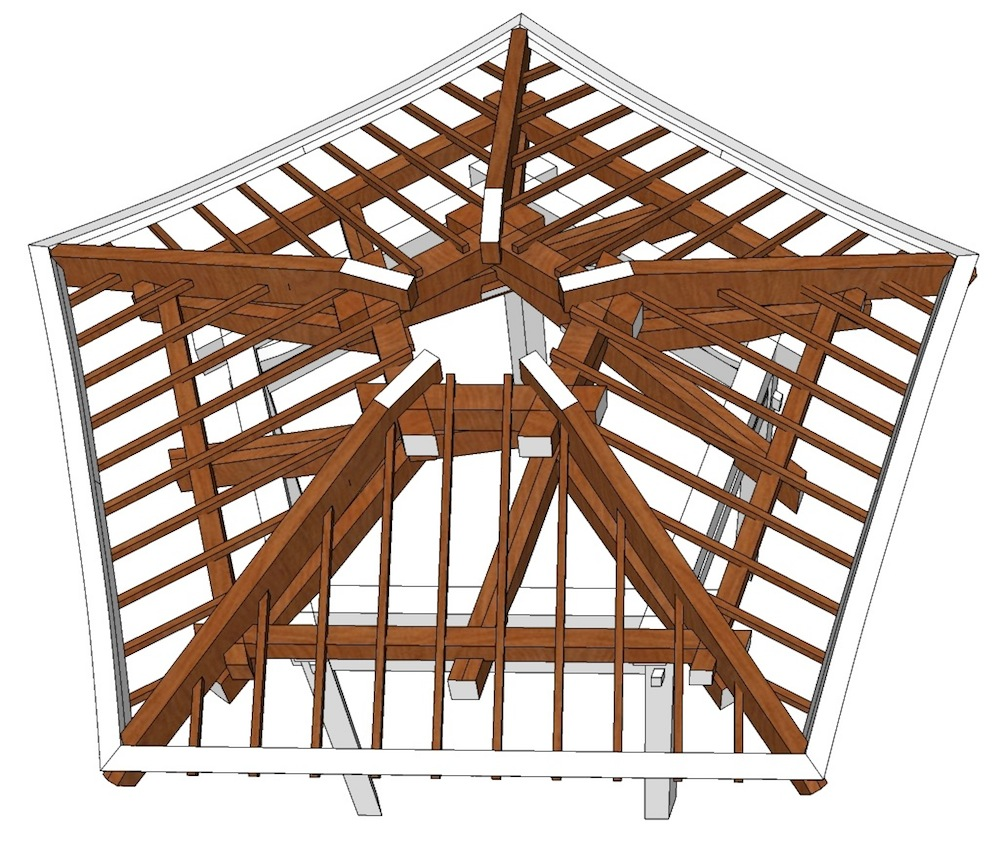 The Carpentry Way: The Story Of The Gazebo (VII