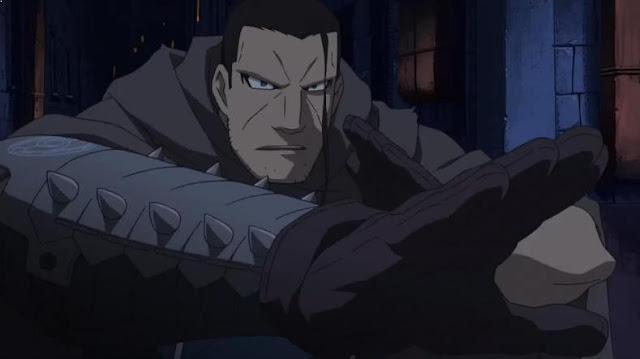 Karakter Anime Pengguna Kekuatan Elemen Air Terkuat Isaac Mcdougal ( Fullmetal Alchemist : Brotherhood )