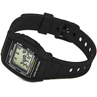 Casio W-201-1AVEF - vista tre quarti