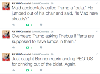 Alt WH Custodial Tweets