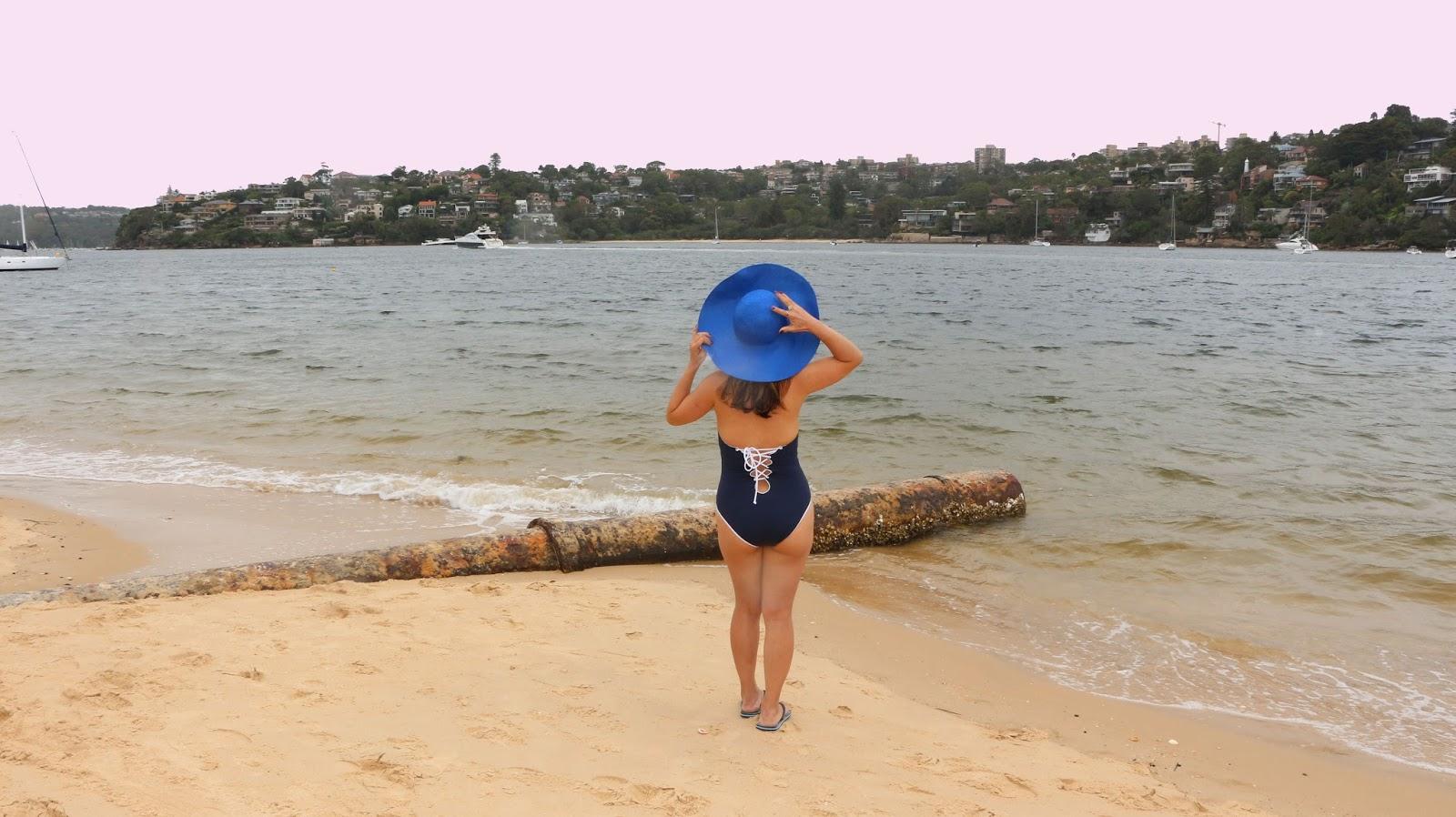 Lace-up up swimwear