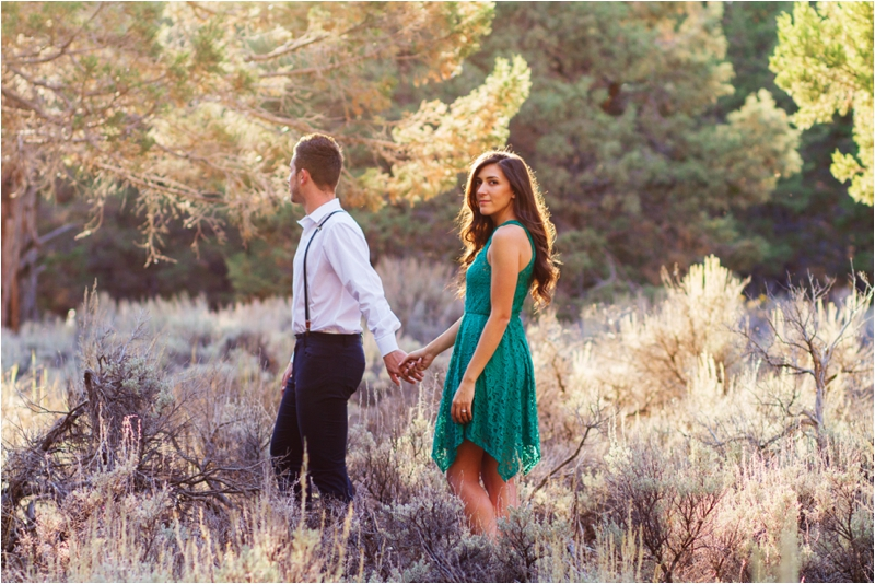 Casual Big Bear Lake Engagement Session