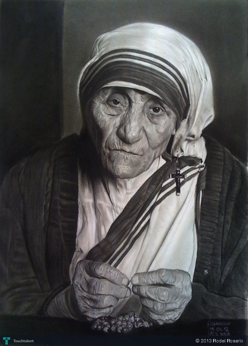 St. Teresa of Calcutta: Icon Reproduction