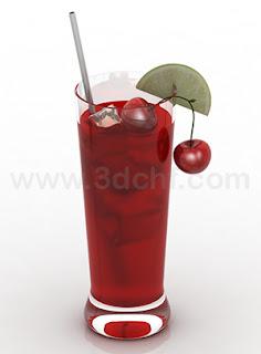 fresh drink 3d model