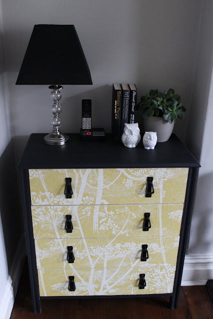 Got a piece of furniture that needs a bit of a refresh? Take a look at how I gave a wallpapered chest of drawers a new lease of life!