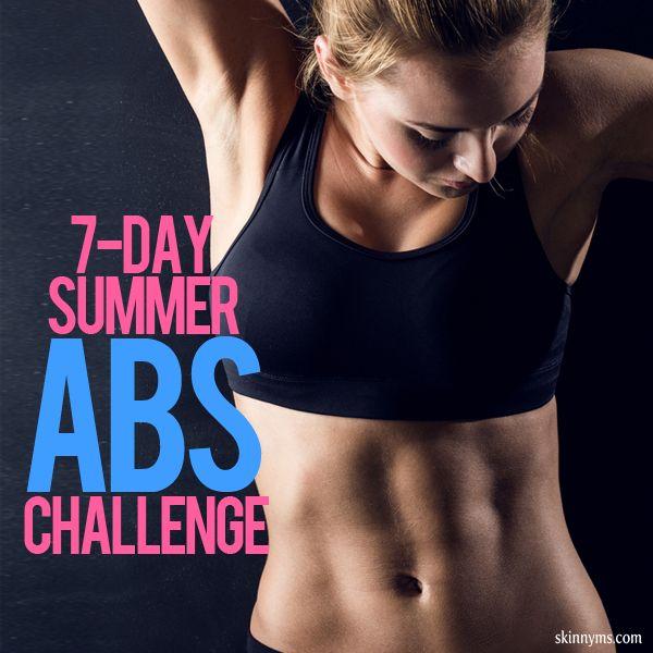 7- Day Summer Abs Challenge