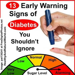 13 early warning signs of diabetes