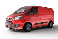 Ford Transit Custom Black Edition (2017) Front Side 4