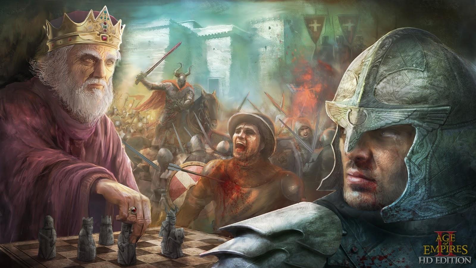 تحميل لعبة age of empires 2 كاملة من ميديا فاير