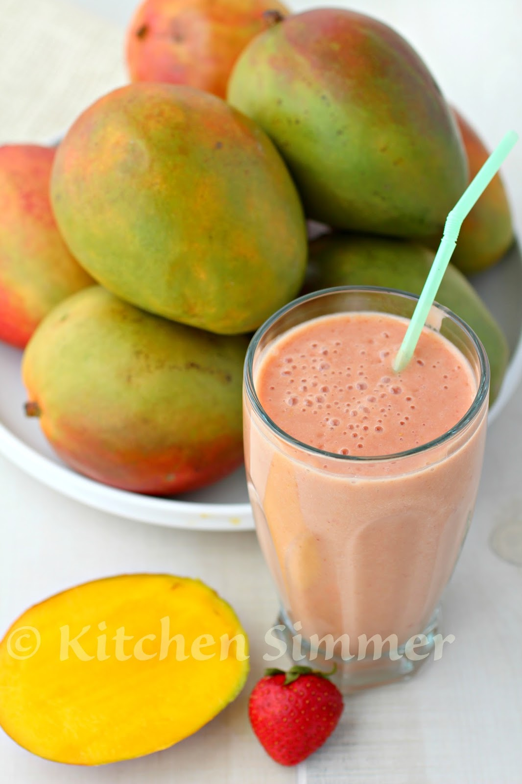 how to make mango juice without a blender