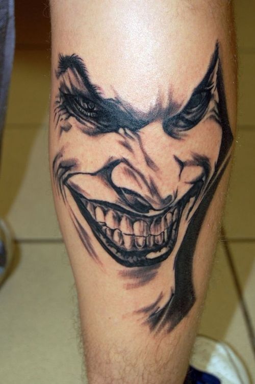 joker tattoo designs pictures - photo #1