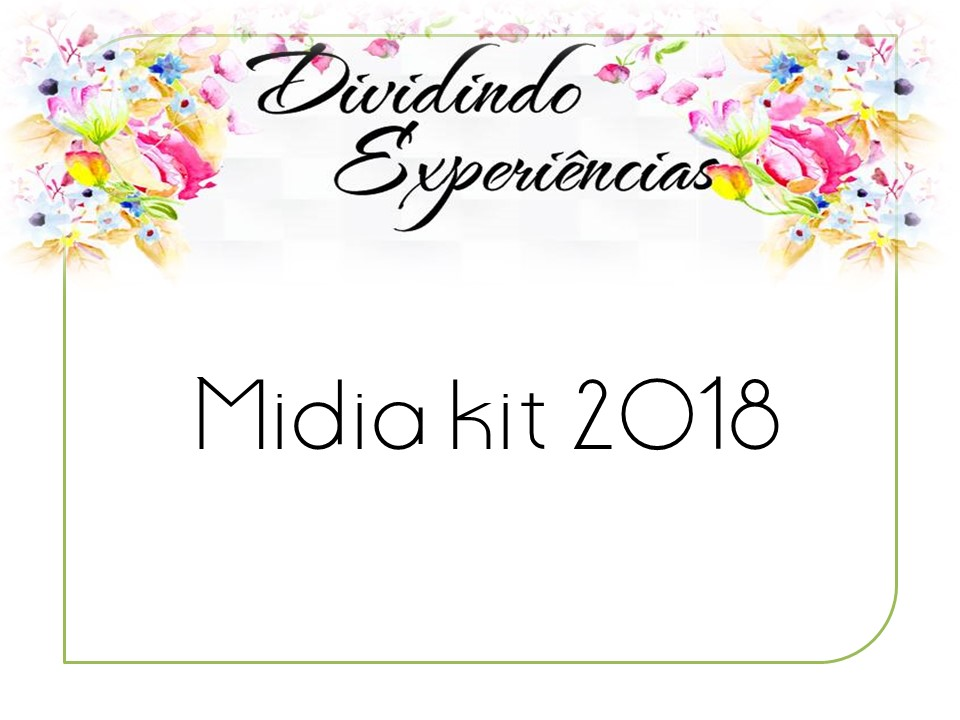 Mídia Kit do Blog