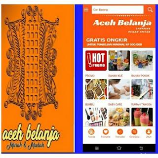 Pembuatan Aplikasi Toko Online Aceh Belanja