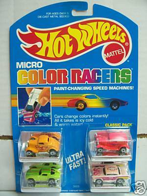 How Much To Paint A Car >> Toys from the Past: #281 HOT WHEELS! –MINI AUTOMAGIC ...