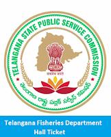 Telangana Fisheries Department Hall Ticket