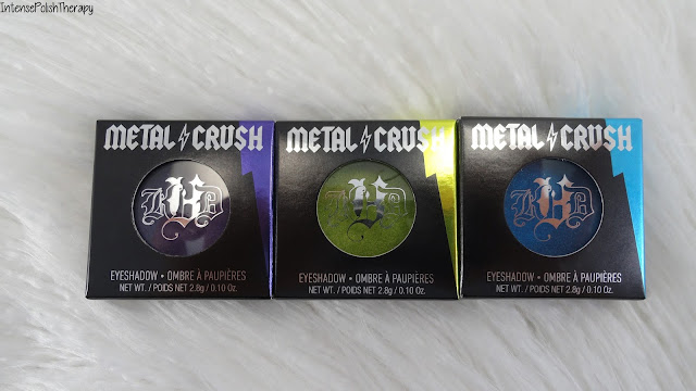 Kat Von D | Metal Crush Eyeshadow ( Danzing, Electric Warrior & Paranoid )