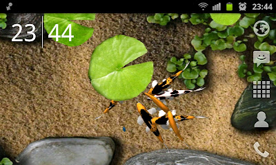 koi 3d live wallpaper for android