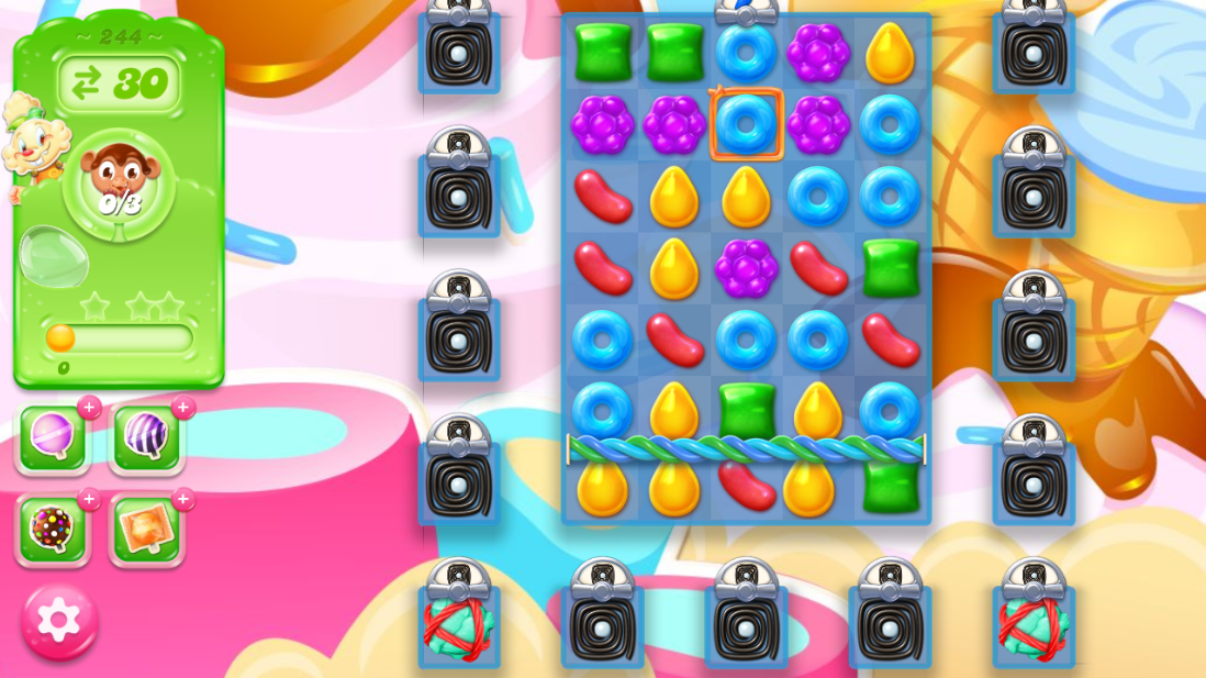 Candy Crush Jelly Saga 244