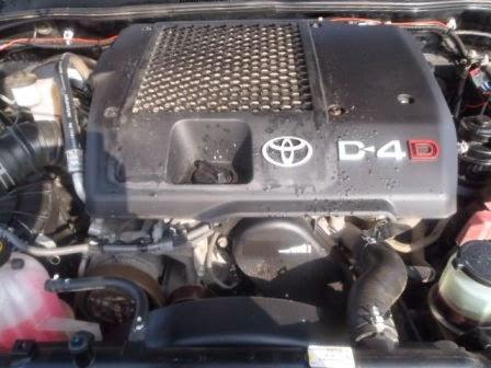 Toyota Landcruiser 3 0 D4D Engine: Toyota Landcruiser 3 0
