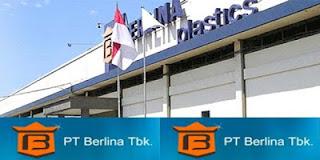 Lowongan Kerja SMK Quality Control PT BERLINA Tbk Jababeka - Cikarang