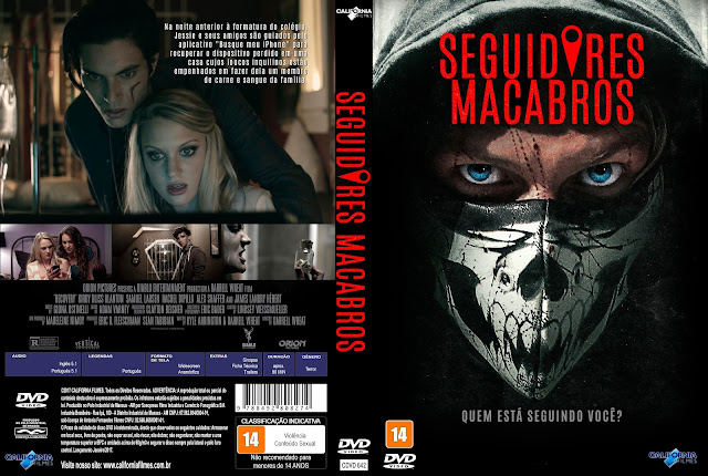 Capa DVD Seguidores Macabros