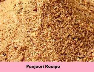 Panjeeri Recipe