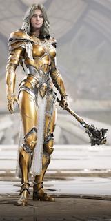 Serath bloodgold skin dorado sangriento