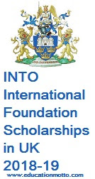 INTO International Foundation Scholarships in UK 2018-19, at University of East Anglia, Description, Eligibility Criteria, Method of Applying, Deadline
