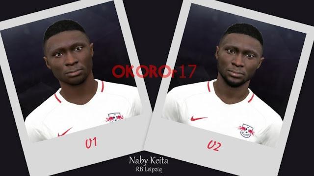 Naby Keita Face PES 2017