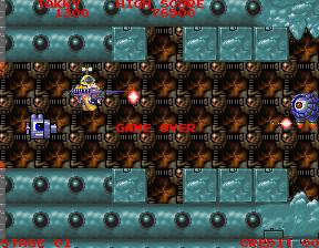 bakutotu+baraduke 2+arcade+retro+game+shoot'em up+videojuego+descargar gratis