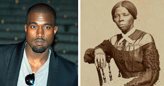Kanye West and Harriet Tubman