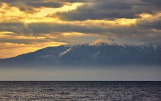Ο Όλυμπος χιονισμένος από τη Θεσσαλονίκη (ΦΩΤΟ + VIDEO)
