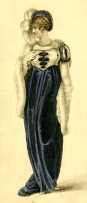 Opera dress from  Ackermann's Repository (1809)