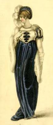 Opera dress from  Ackermann's Repository (1809)