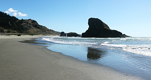 meyers beach oregon coast pch